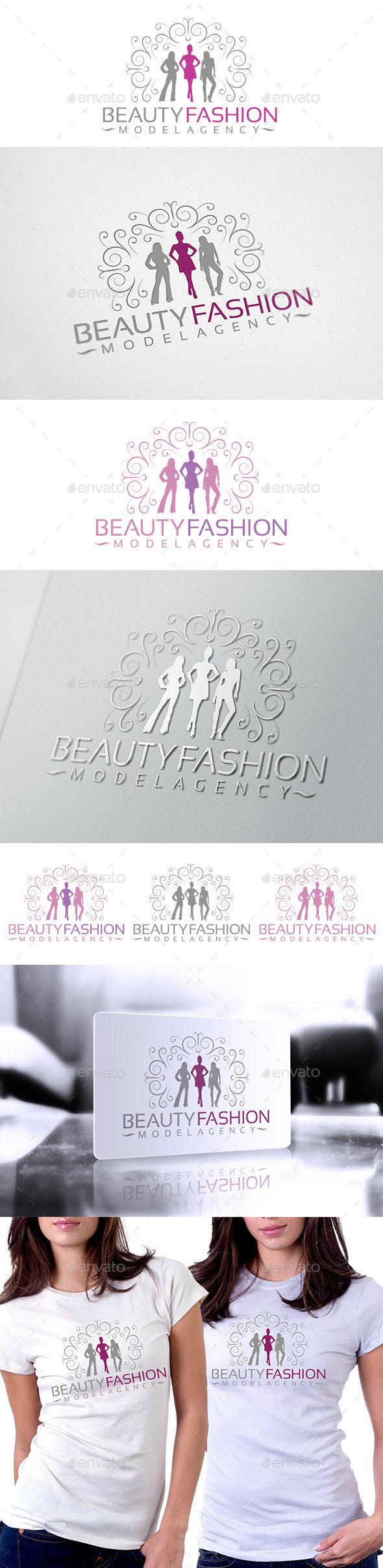 GraphicRiver Beauty Fashion Logo 10034579