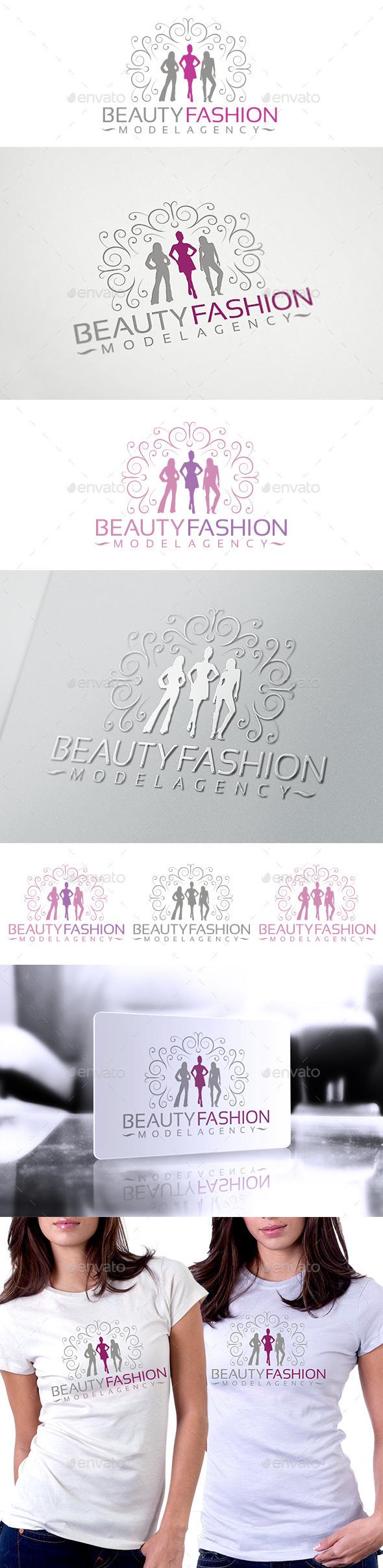 GraphicRiver Beauty Fashion Logo 10034579
