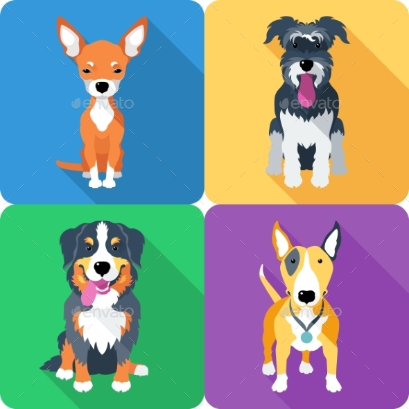 GraphicRiver Dog Icons 10034625