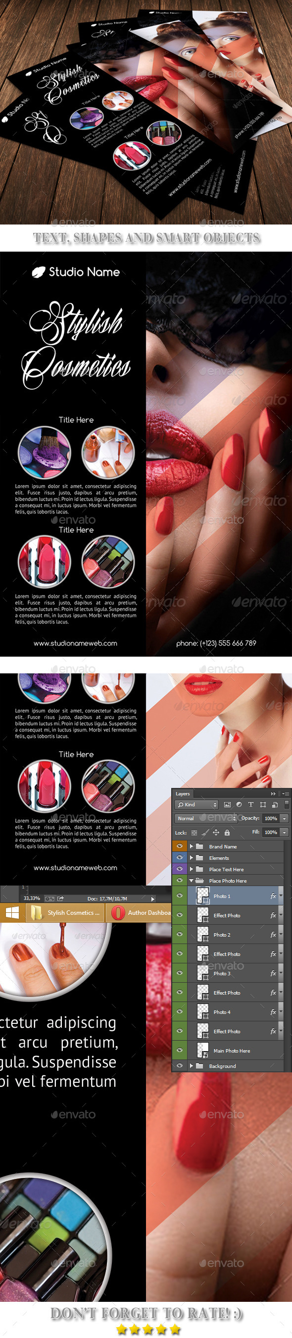 GraphicRiver Stylish Cosmetics Template 53 10019848