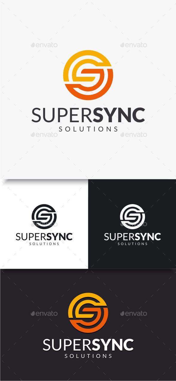 GraphicRiver Super Sync Logo 10034751