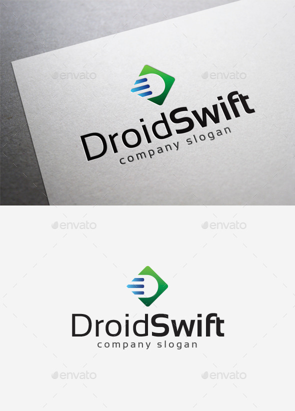 GraphicRiver Droid Swift Logo 10034851