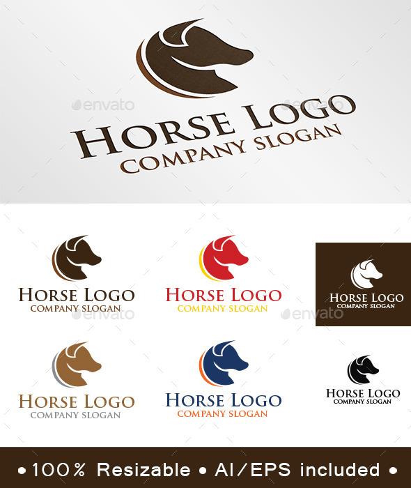 GraphicRiver Horse Logo 10035017