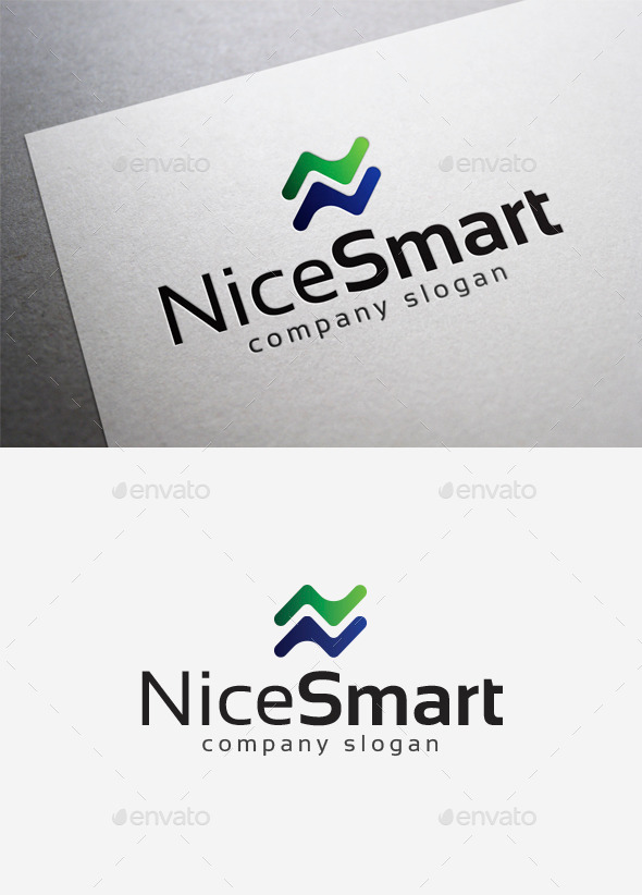 GraphicRiver Nice Smart Logo 10035074