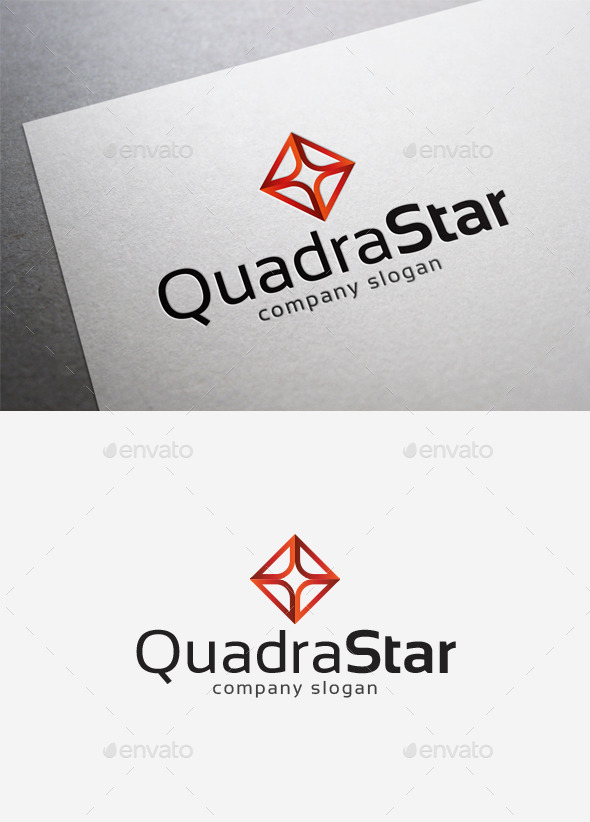 GraphicRiver Quadra Star Logo 10035105