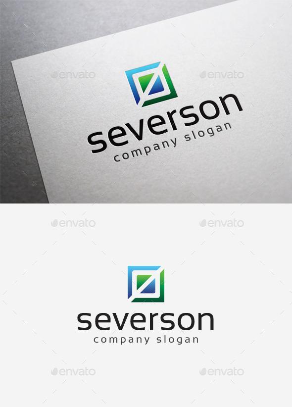 GraphicRiver Severson Logo 10035115