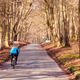 Ashridge Estate - Cyclists in Winter - PhotoDune Item for Sale