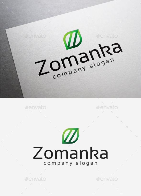 GraphicRiver Zomanka Logo 10035415