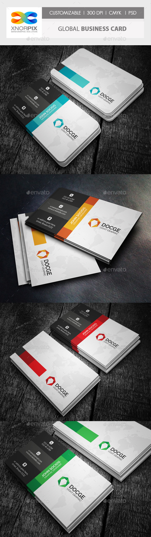 GraphicRiver Global Business Card 10035843