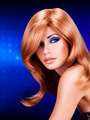 portrait of a  woman with long red hairs and  fashion makeup - PhotoDune Item for Sale