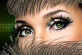 Woman's eyes with fashion makeup - PhotoDune Item for Sale