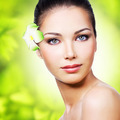 Closeup healthy face of young woman - PhotoDune Item for Sale