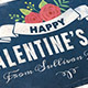 Vintage Valentine's Day Photo Card - GraphicRiver Item for Sale