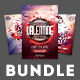 Valentine Flyer Bundle Vol.02 - GraphicRiver Item for Sale