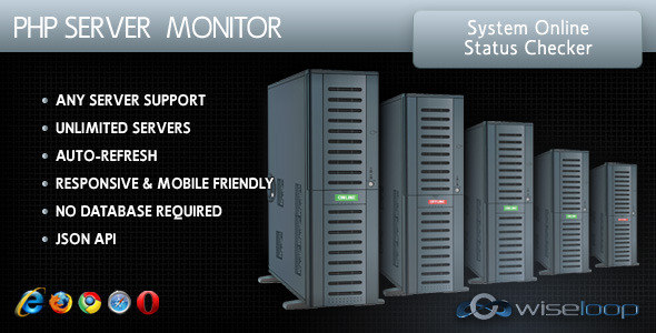 CodeCanyon PHP Server Monitor 10037449
