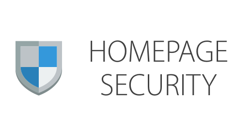 HOMEPAGE SECURITY