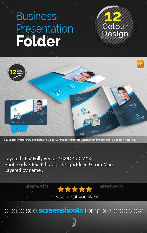 GraphicRiver Corporate Presentation Folder 10038306