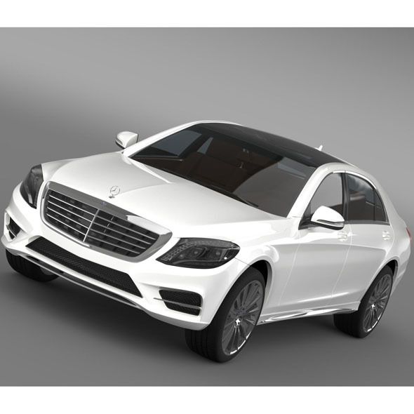 AMG Mercedes Benz S 350 BlueTec W222 2013 - 3DOcean Item for Sale