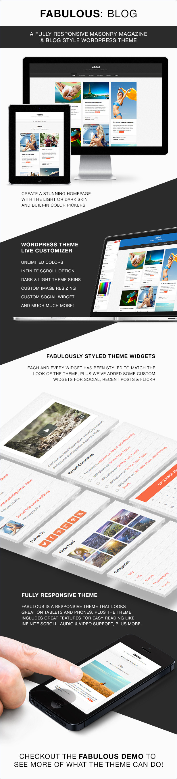 Fabulous WordPress Theme Features