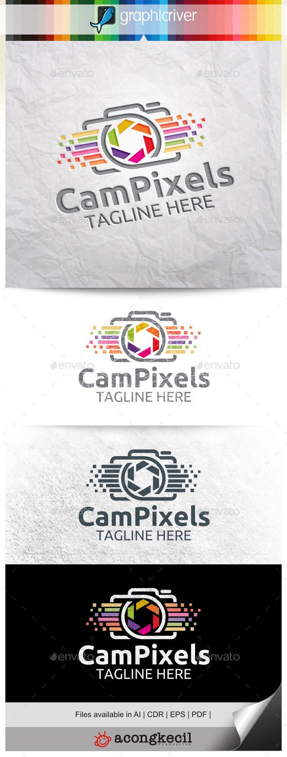 GraphicRiver Camera Pixels V.2 10014131