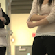 Middle School Girls Talking Before Class - VideoHive Item for Sale