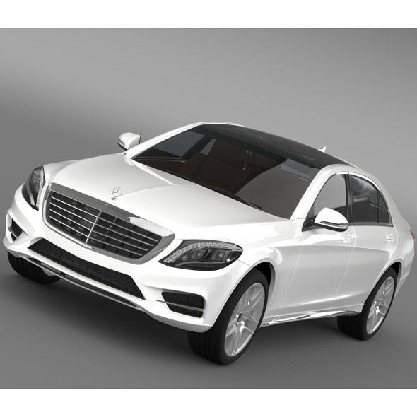 Mercedes Benz S 300 BlueTec Hybrid W222 2013