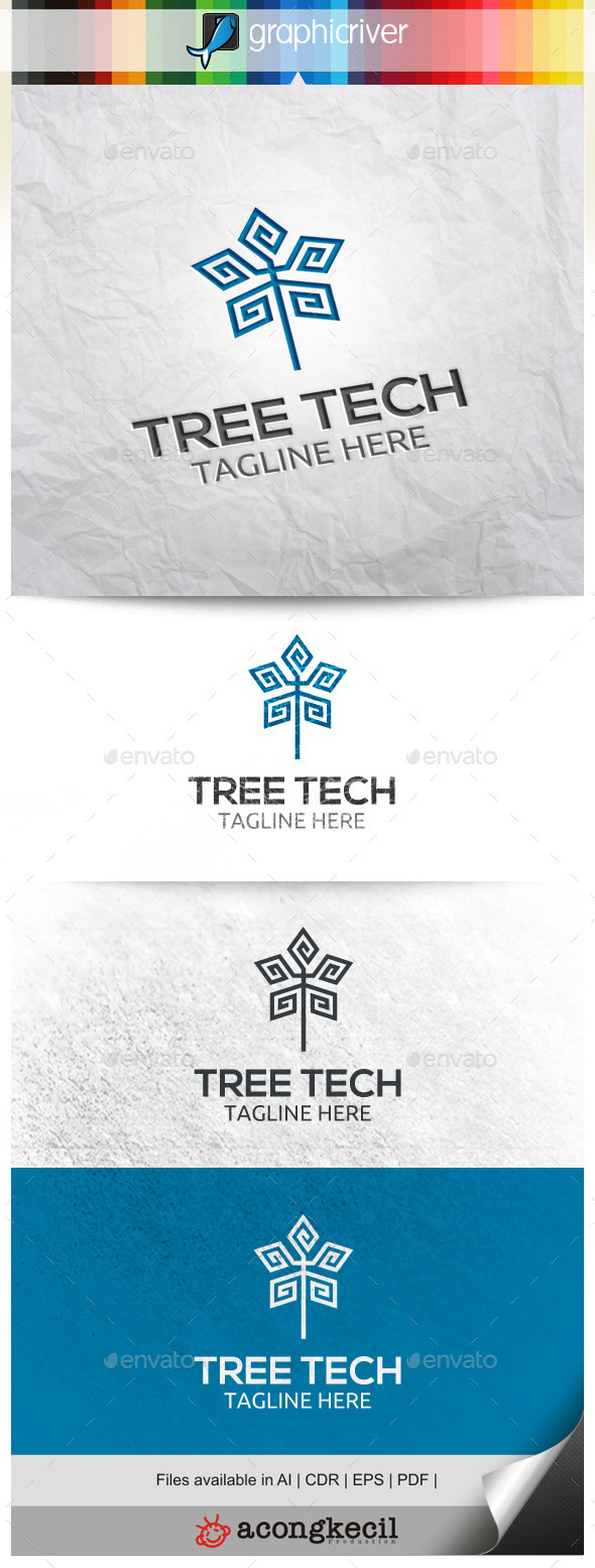 GraphicRiver Tree Tech 10039446