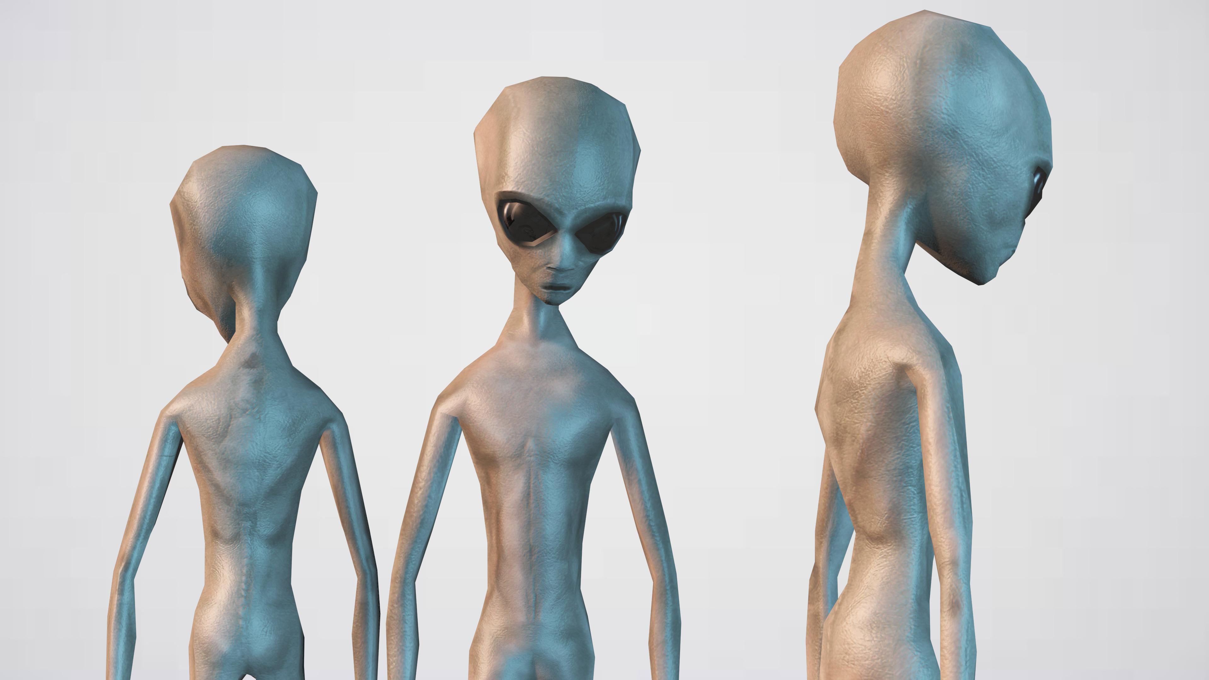 Alien Grey By Sickleadzdk 3docean