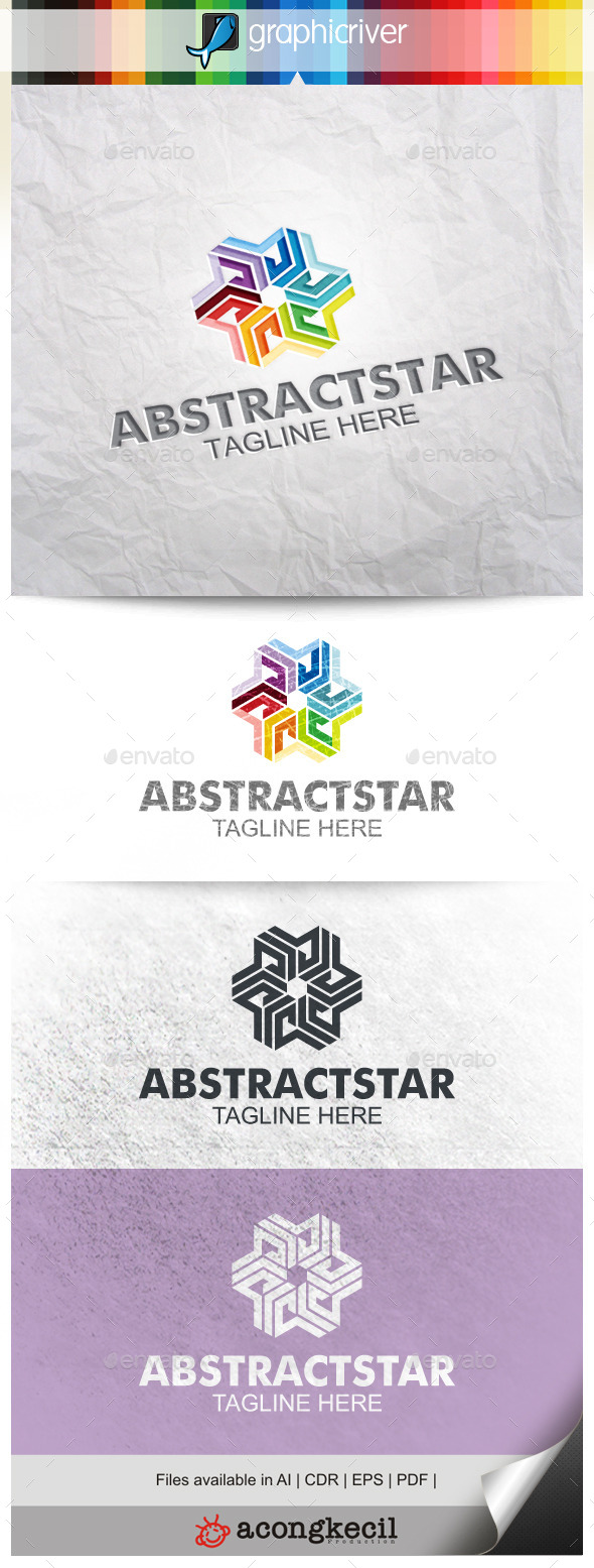 GraphicRiver Abstract Star V.5 10040074