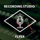 Recording Studio Flyer - GraphicRiver Item for Sale