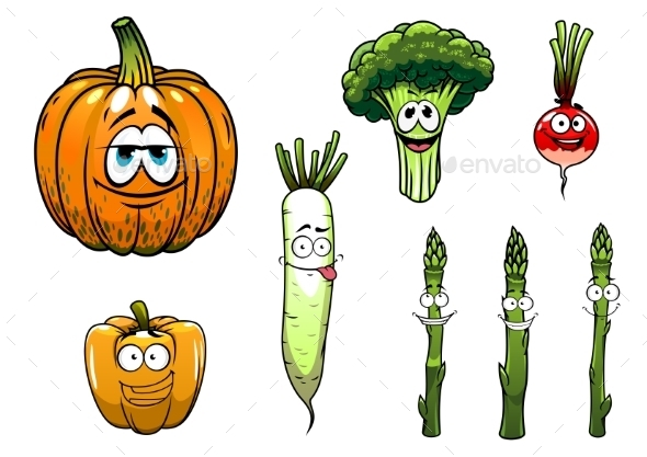 GraphicRiver Vegetables Collection 10040342