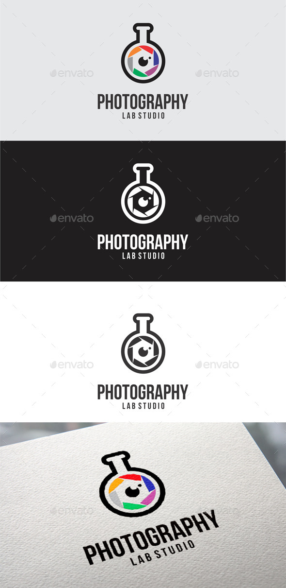 GraphicRiver Photography Lab Studio Logo Templates 10040361