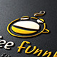 Coffee Funny Logo - GraphicRiver Item for Sale