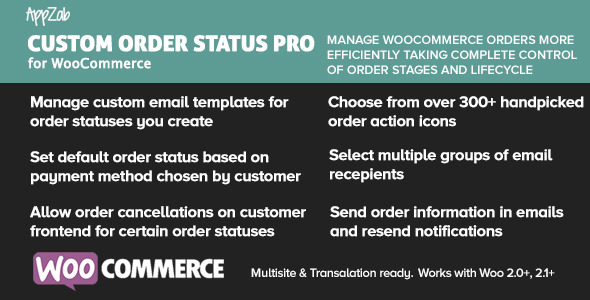 CodeCanyon WooCommerce Customer Order Status Pro 10040450