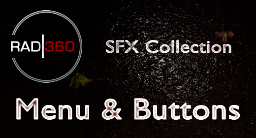 SFX Collection - Menu & Buttons