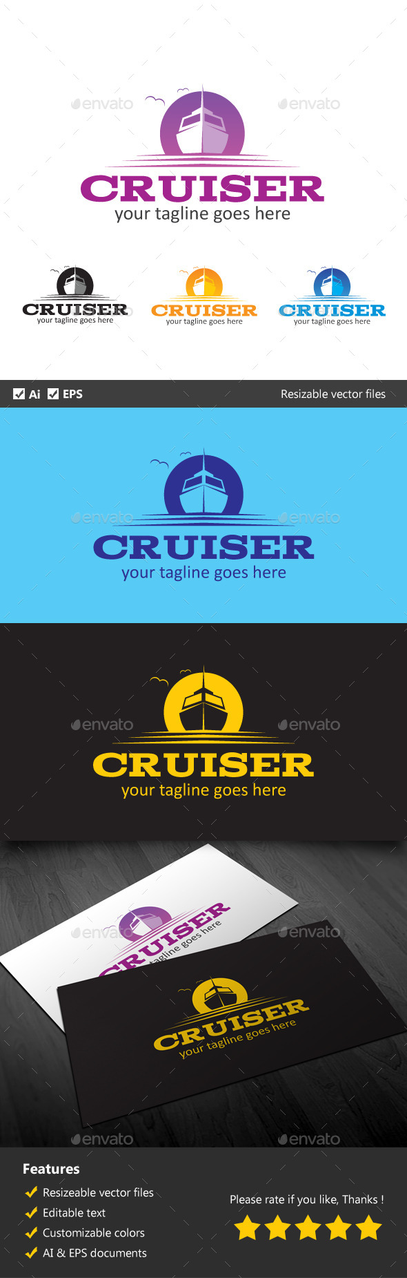 GraphicRiver Cruiser 10040510