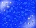 white snowflakes on the blue background - PhotoDune Item for Sale