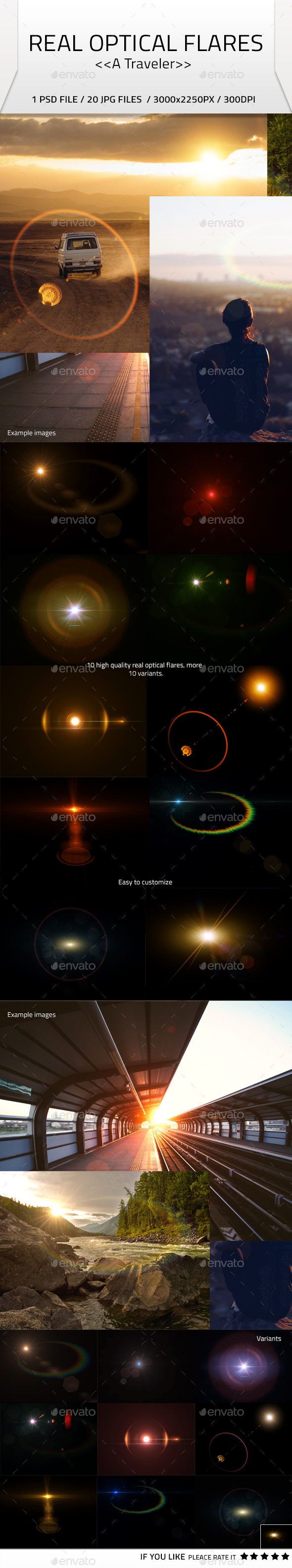 GraphicRiver Real Optical Flares 10041011