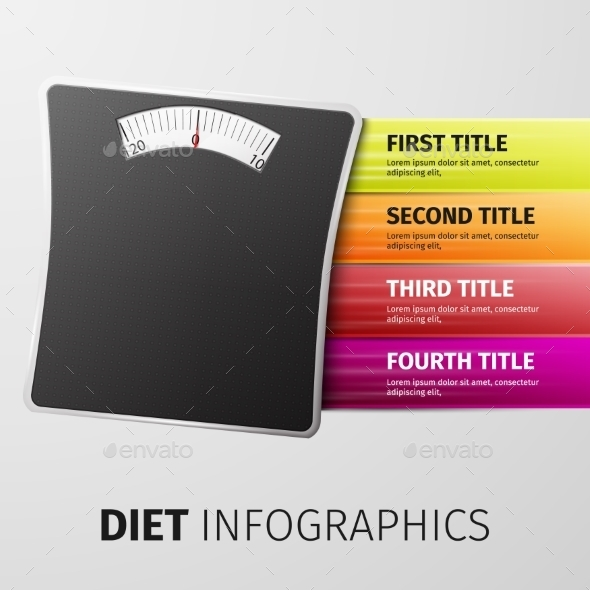 GraphicRiver Diet Infographics 10041023