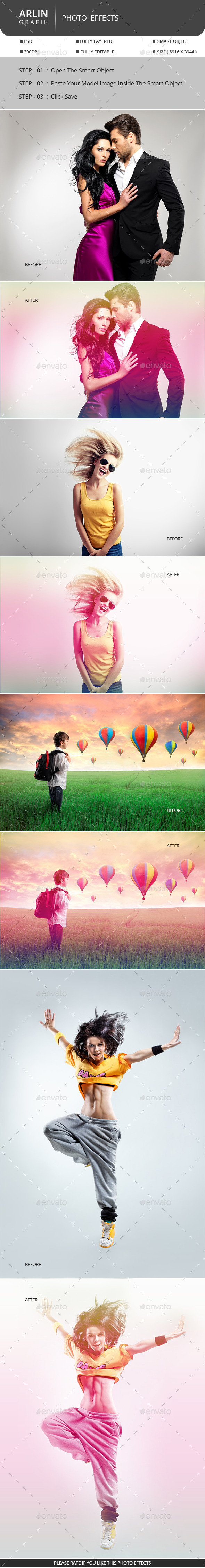 GraphicRiver Rainbow Photo Display 10041234