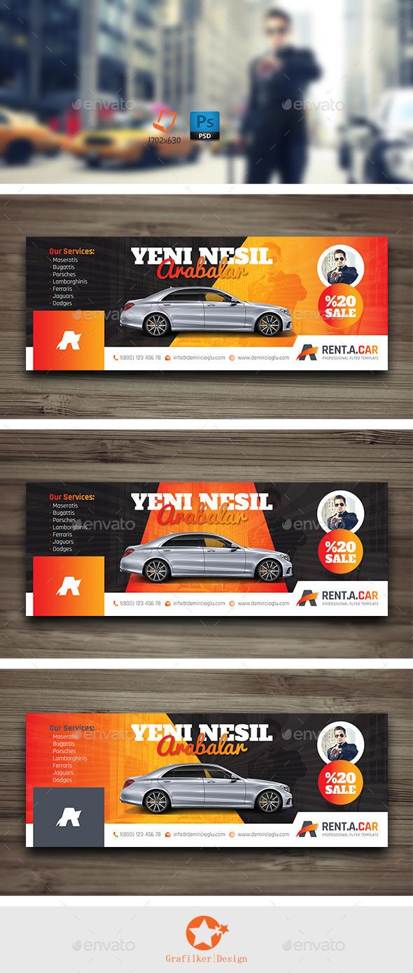 GraphicRiver Rent A Car Cover Templates 10041241