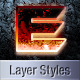 Amazing Sci-Fi Layer Styles - GraphicRiver Item for Sale