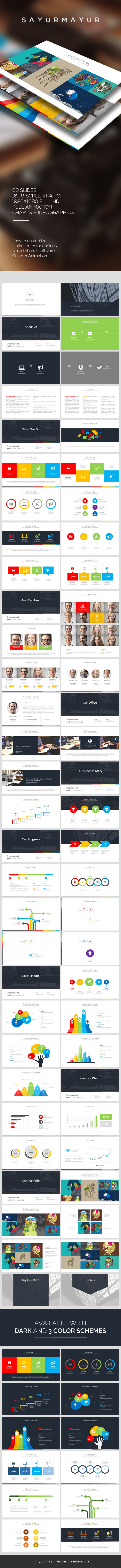 GraphicRiver Sayurmayur PowerPoint Template 10041293