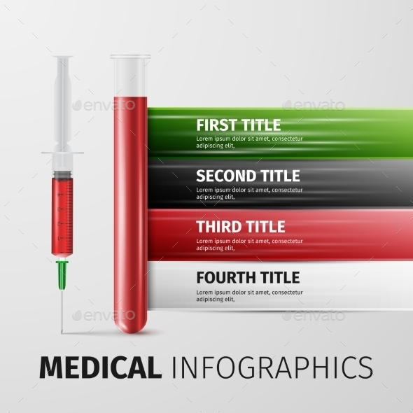 GraphicRiver Medical Infographics 10041507
