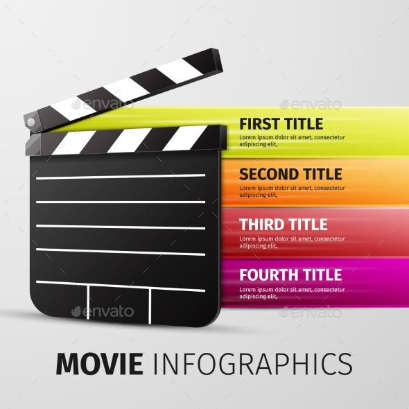 GraphicRiver Movie Infographics 10041560