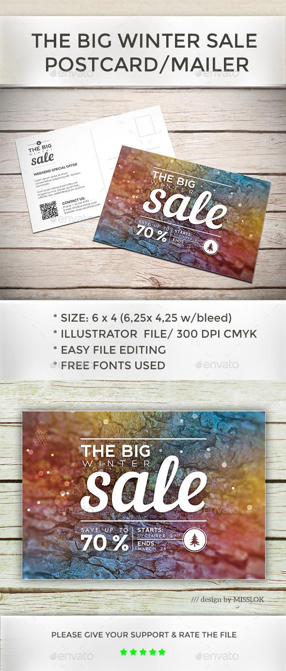 GraphicRiver Big Winter Sale 9962809