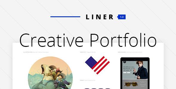 Liner - Premium Portfolio Theme - Portfolio Creative
