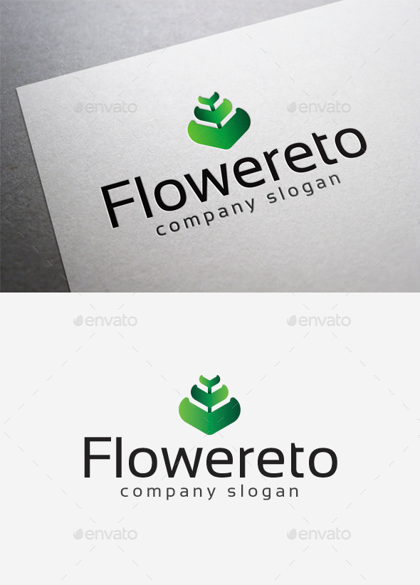 GraphicRiver Flowereto Logo 10042060