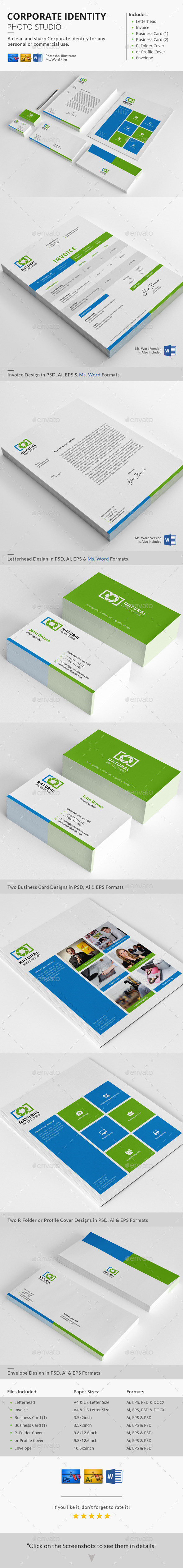 GraphicRiver Corporate Identity Photo Studio 10000729