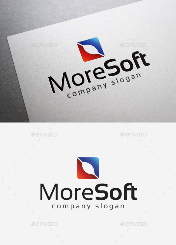 GraphicRiver More Soft Logo 10042104